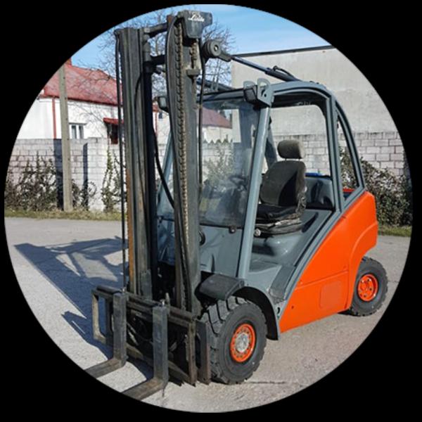 Wózek widłowy Linde H25-392 SX3800 LPG